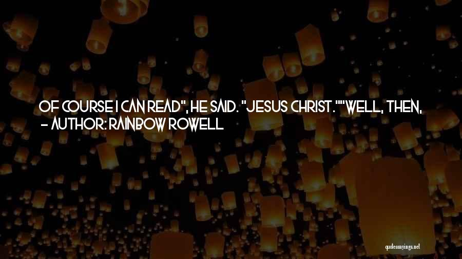 Humorous Book Quotes By Rainbow Rowell