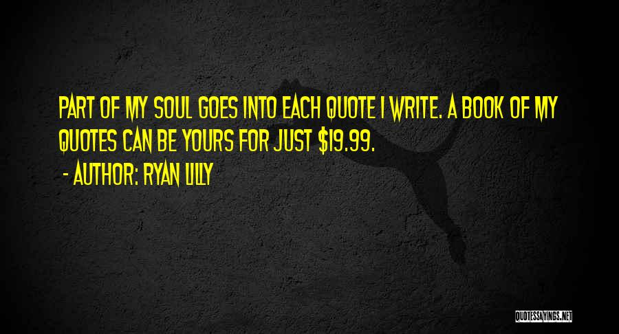 Humorous Book Quotes By Ryan Lilly