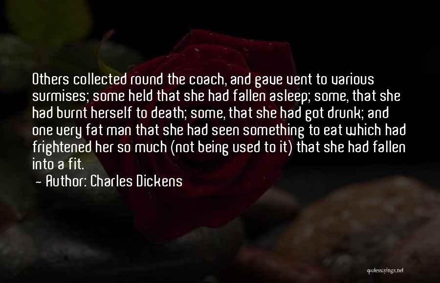 Humorous Death Quotes By Charles Dickens