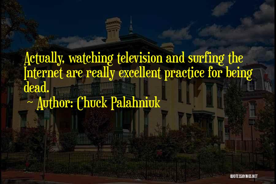 Humorous Death Quotes By Chuck Palahniuk