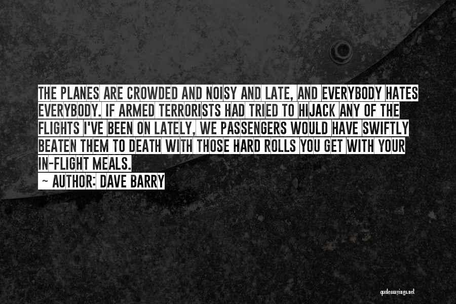 Humorous Death Quotes By Dave Barry