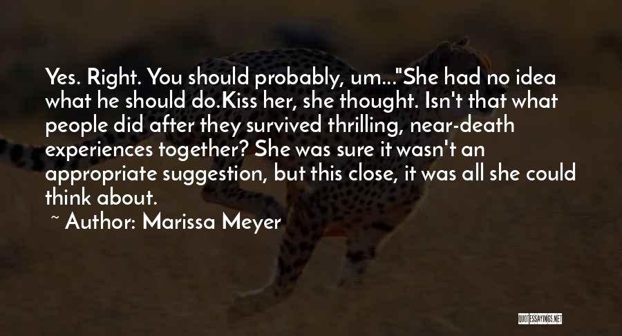 Humorous Death Quotes By Marissa Meyer