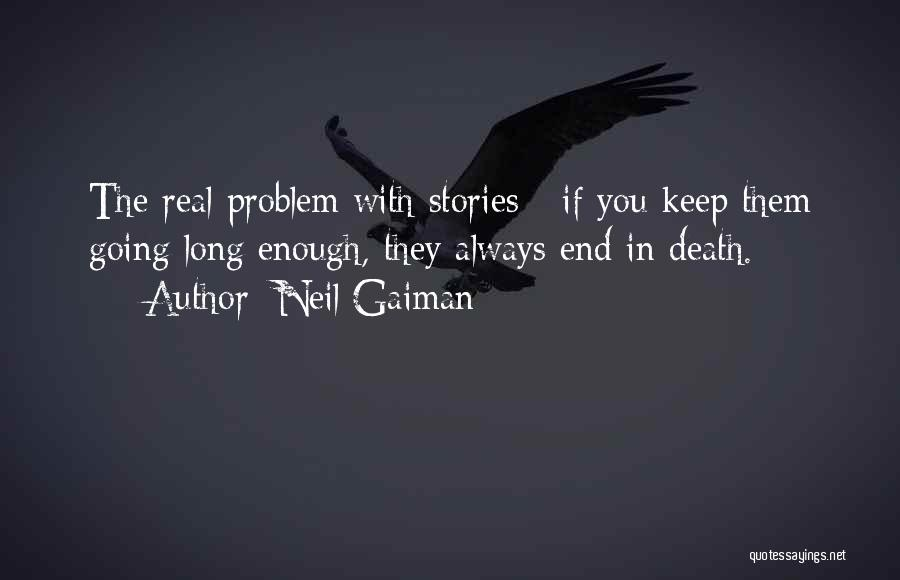 Humorous Death Quotes By Neil Gaiman