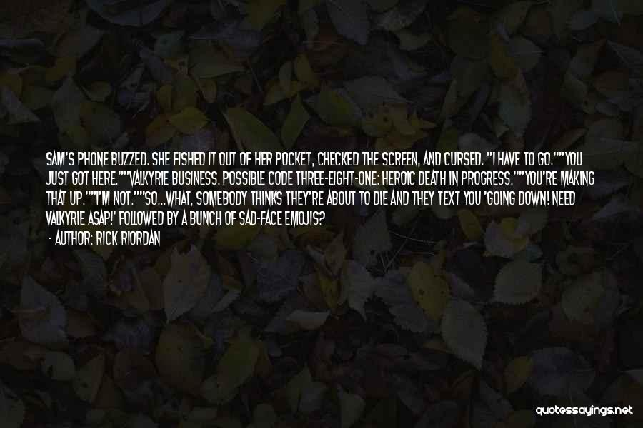 Humorous Death Quotes By Rick Riordan