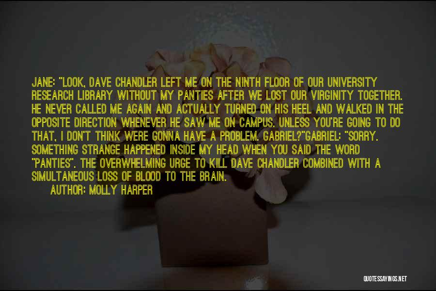 Humorous Library Quotes By Molly Harper