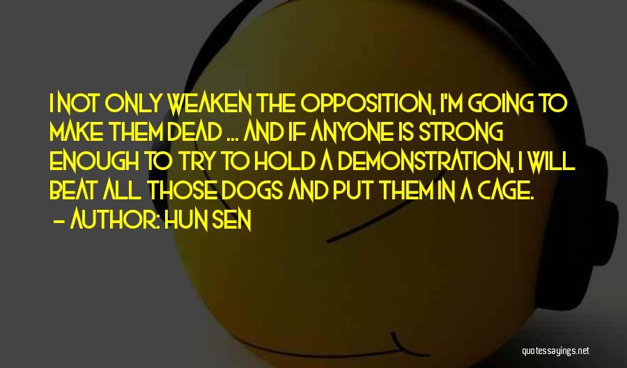 Hun Sen Quotes 301045