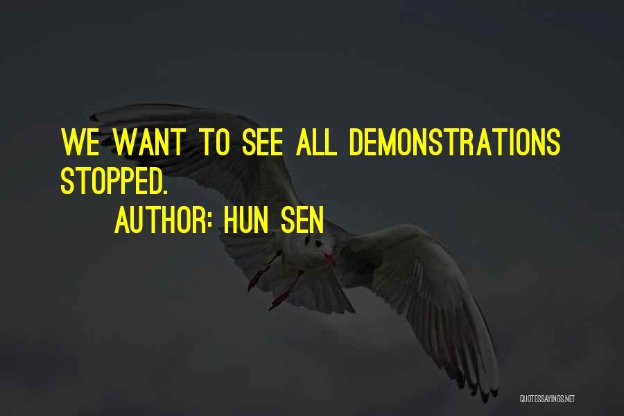 Hun Sen Quotes 941177
