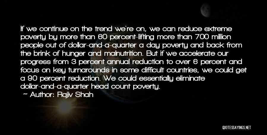 Hunger And Malnutrition Quotes By Rajiv Shah