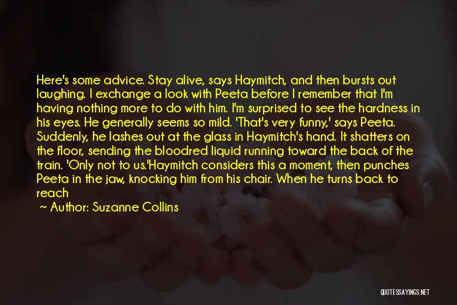 Top 1 Hunger Games Funny Peeta Quotes & Sayings
