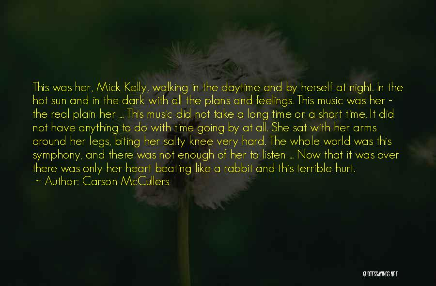 Hurt Knee Quotes By Carson McCullers