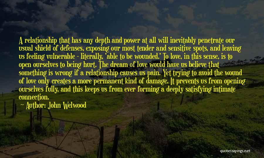 Hurt Ourselves Quotes By John Welwood