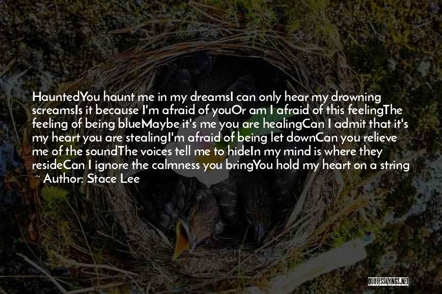 Hurting Someone You Love And Being Sorry Quotes By Stace Lee