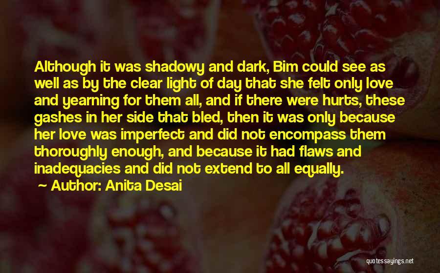 Hurts Quotes By Anita Desai