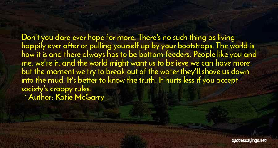 Hurts Quotes By Katie McGarry
