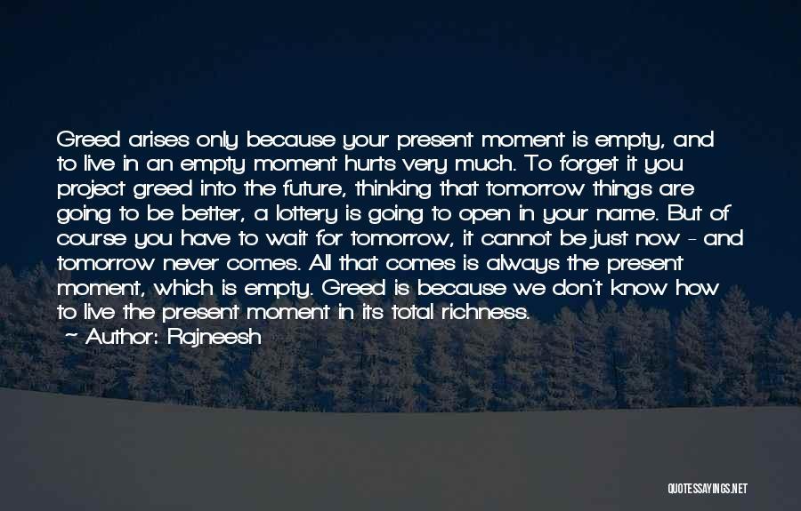 Hurts Quotes By Rajneesh