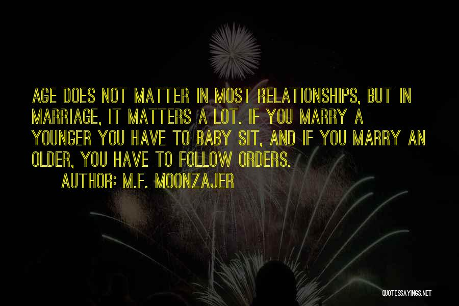 Husband Wife And Baby Quotes By M.F. Moonzajer