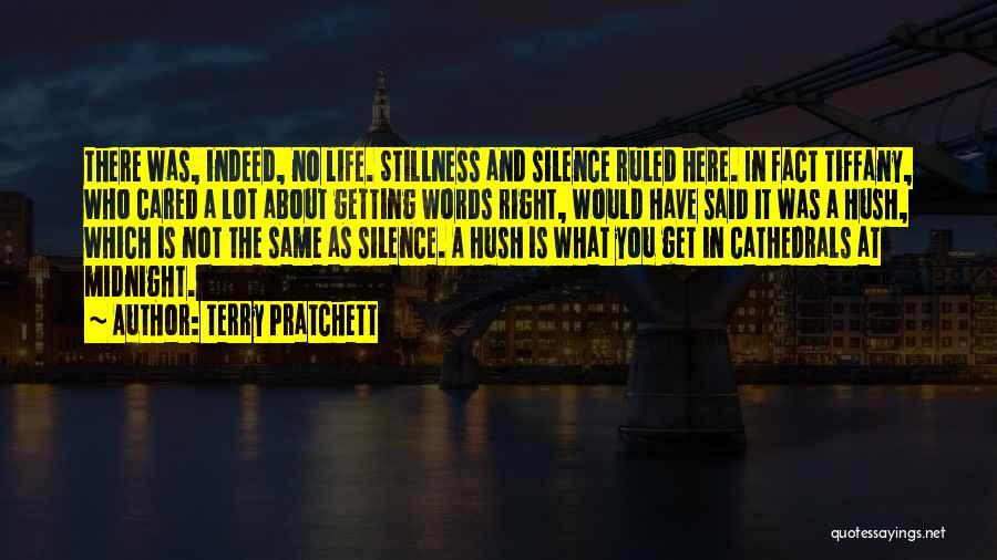 Hush Hush Silence Quotes By Terry Pratchett