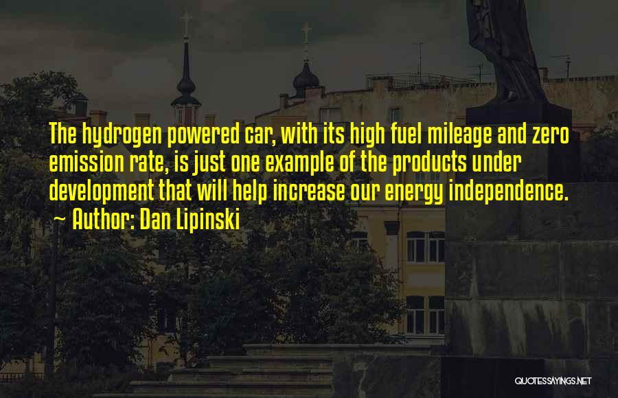 Hydrogen Car Quotes By Dan Lipinski