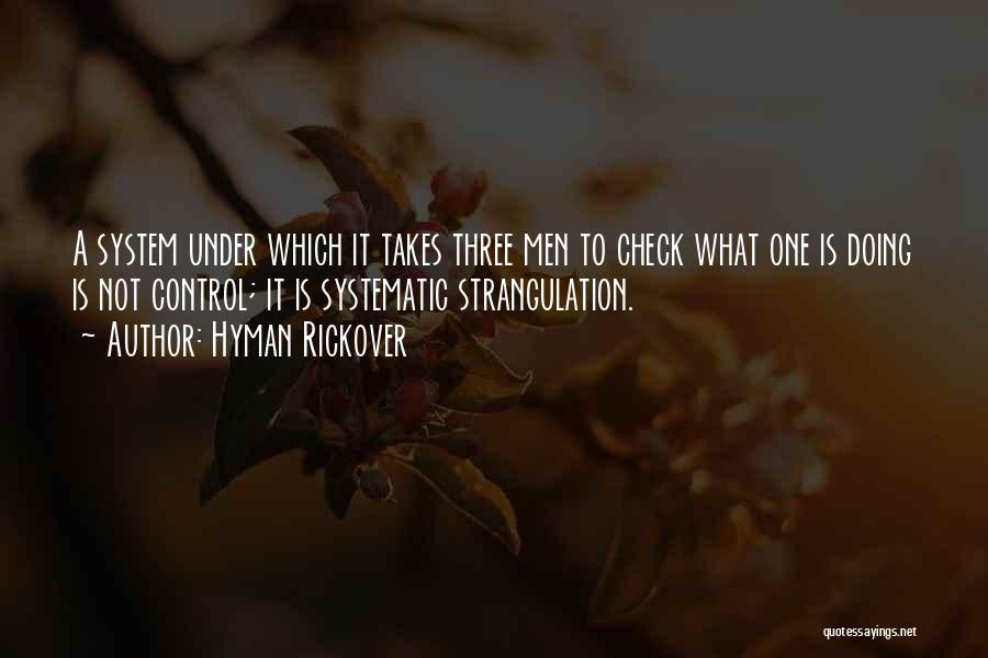 Hyman Rickover Quotes 110776