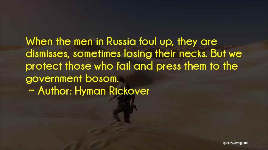 Hyman Rickover Quotes 1204611