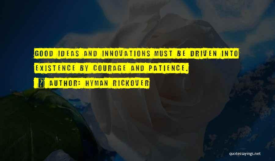 Hyman Rickover Quotes 1390329