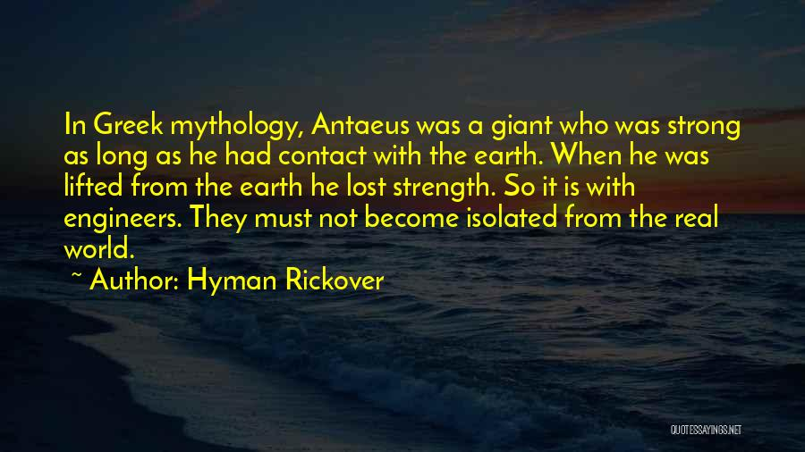 Hyman Rickover Quotes 1520227