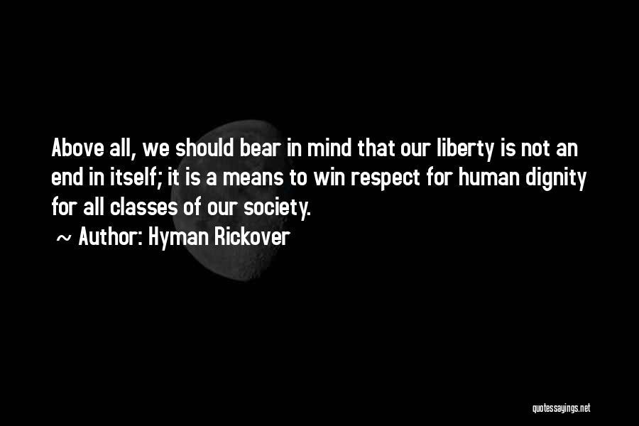 Hyman Rickover Quotes 1857916