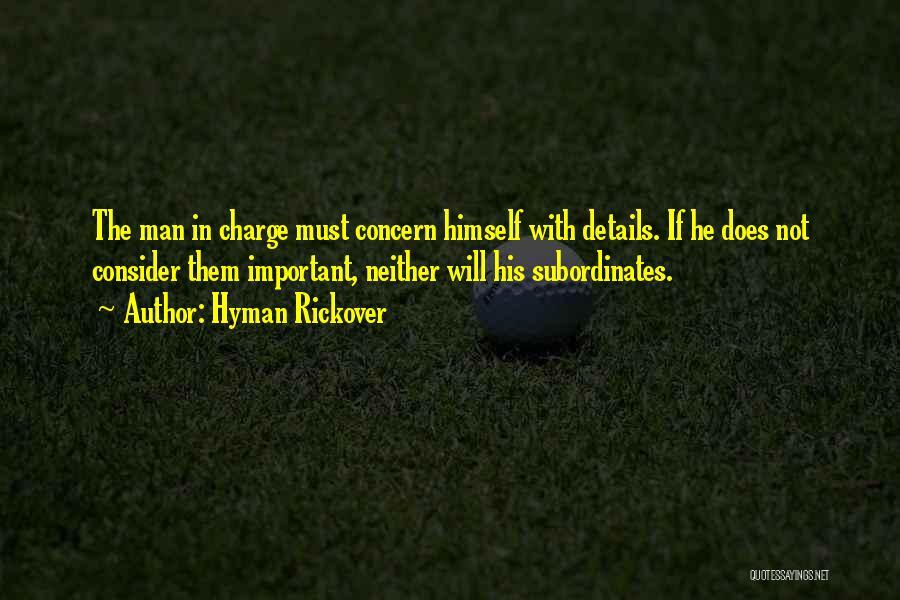 Hyman Rickover Quotes 1986003