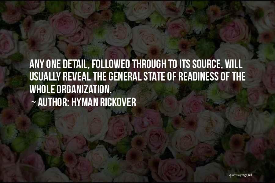 Hyman Rickover Quotes 2252616