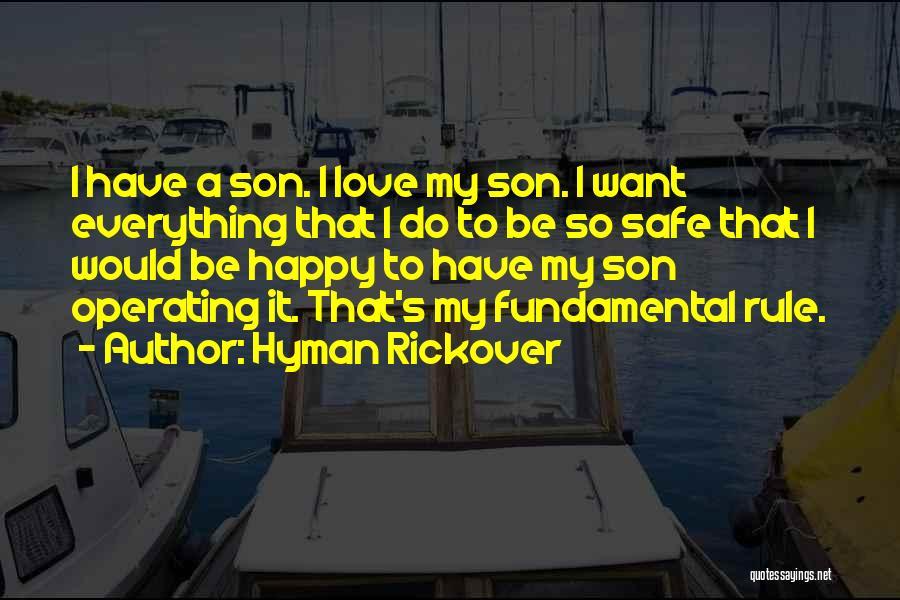 Hyman Rickover Quotes 265937