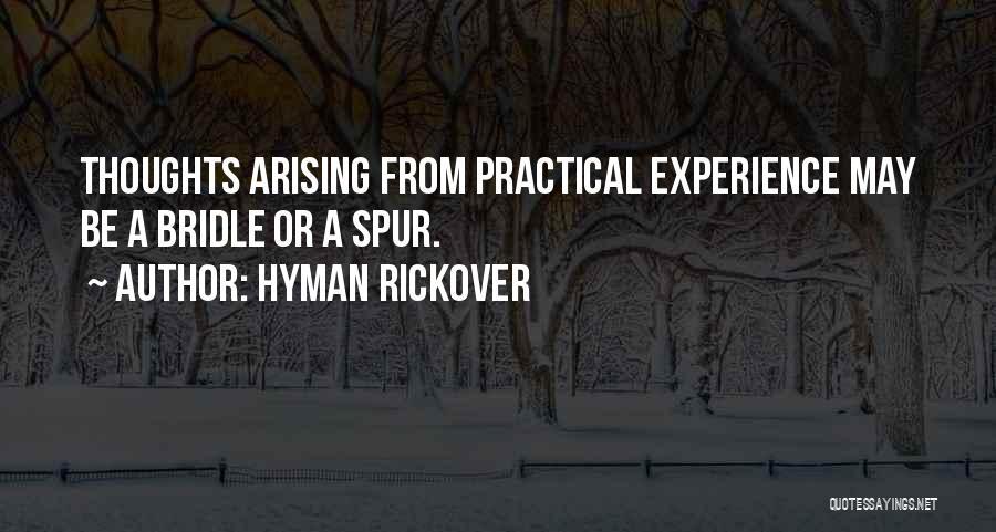 Hyman Rickover Quotes 302894