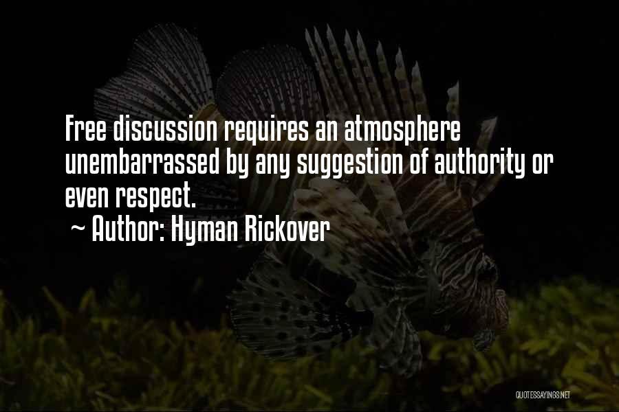 Hyman Rickover Quotes 448236