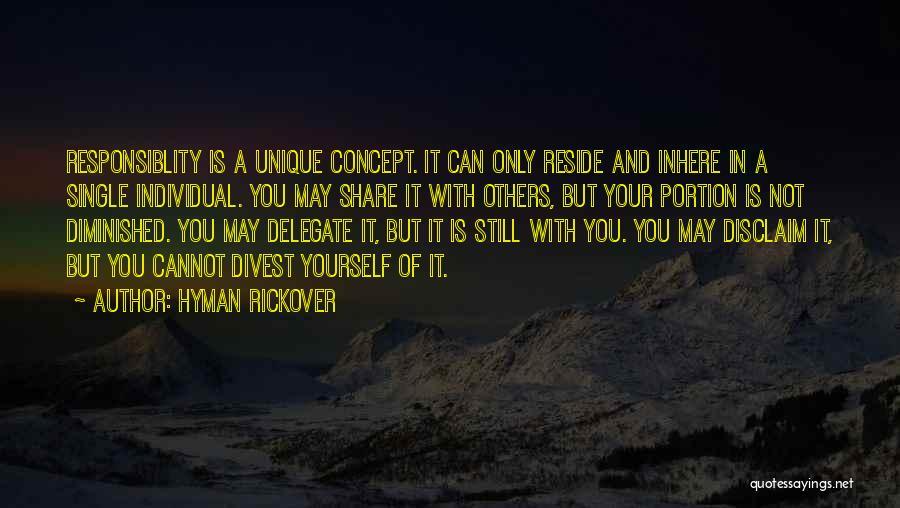 Hyman Rickover Quotes 605787