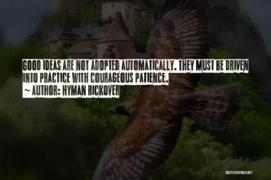 Hyman Rickover Quotes 617840