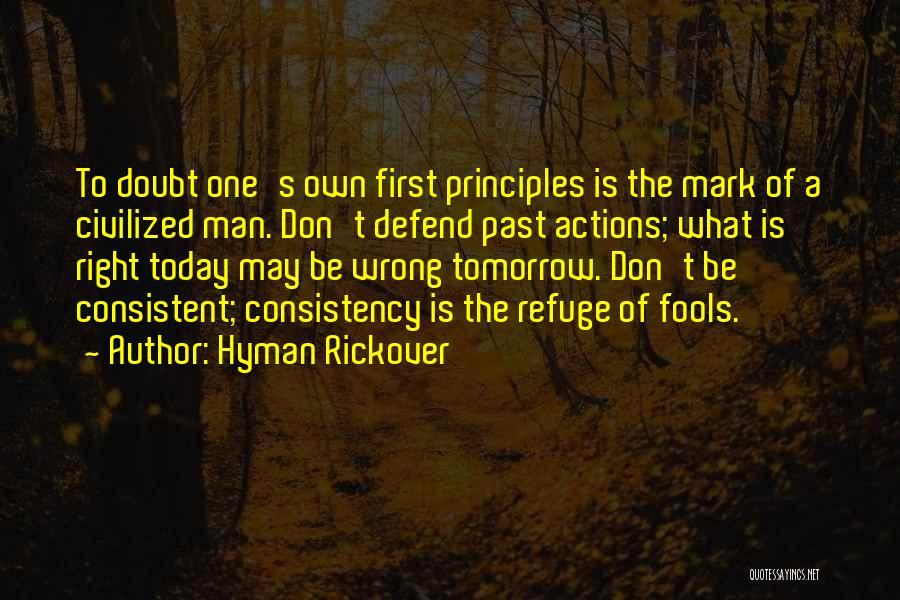 Hyman Rickover Quotes 669811