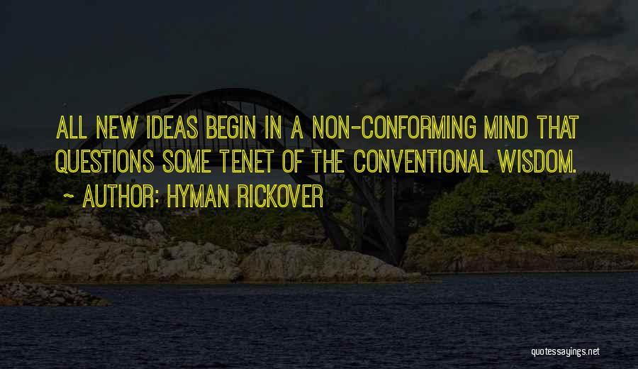 Hyman Rickover Quotes 789391