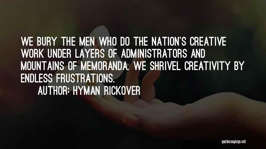 Hyman Rickover Quotes 791892