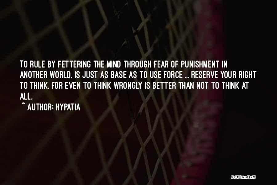 Hypatia Quotes 1639482