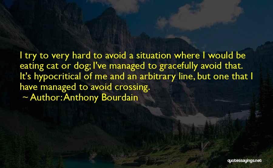 Hypocritical Quotes By Anthony Bourdain