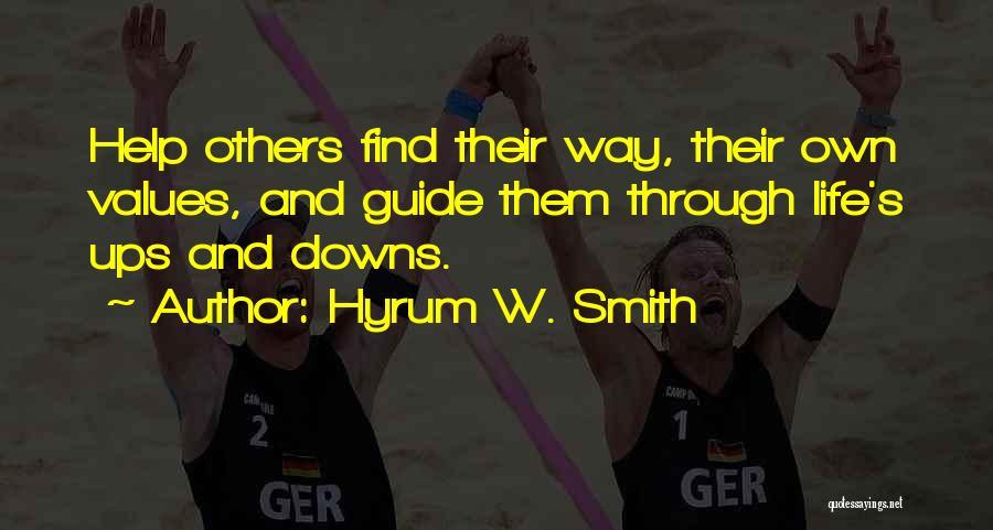 Hyrum W. Smith Quotes 1359296
