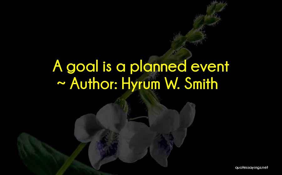 Hyrum W. Smith Quotes 1525674