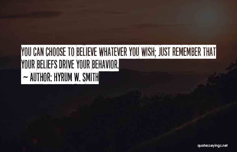Hyrum W. Smith Quotes 2182811