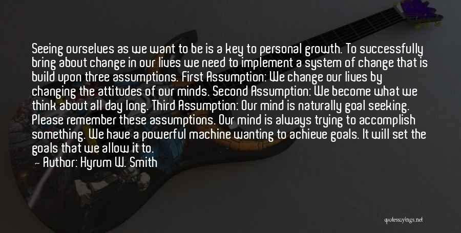 Hyrum W. Smith Quotes 2229585