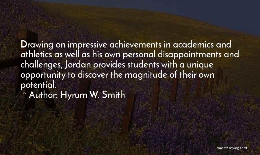 Hyrum W. Smith Quotes 572473