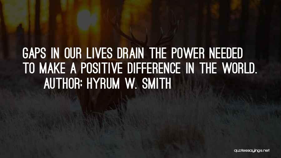 Hyrum W. Smith Quotes 773849