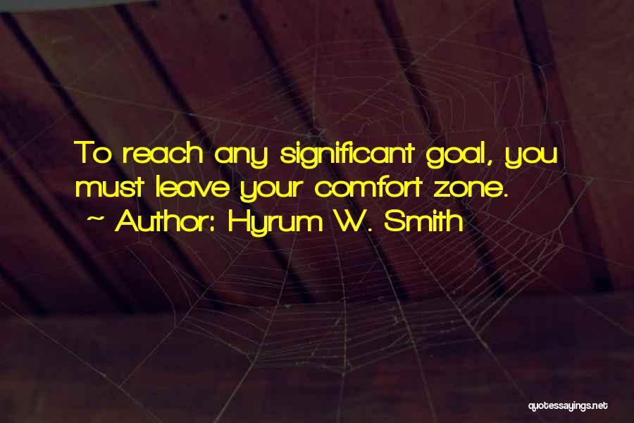 Hyrum W. Smith Quotes 846674