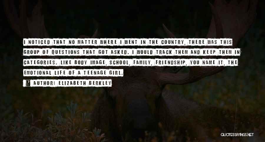 I A Country Girl Quotes By Elizabeth Berkley