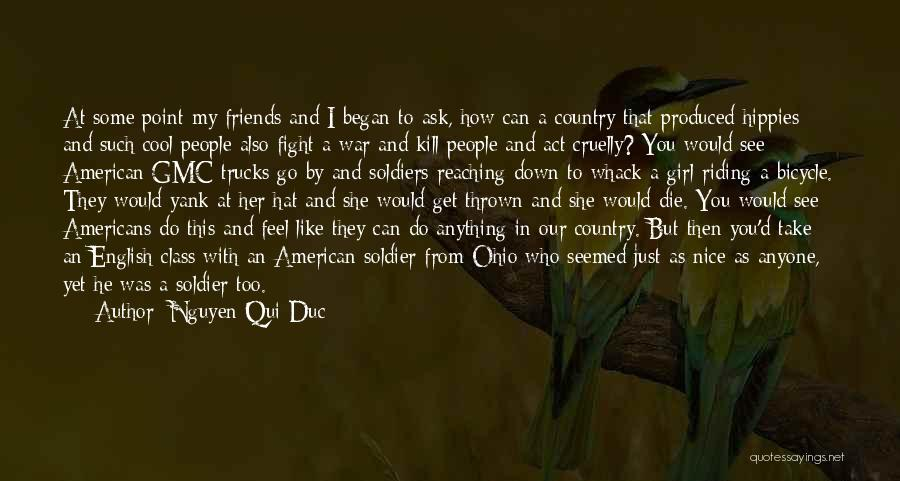 I A Country Girl Quotes By Nguyen Qui Duc