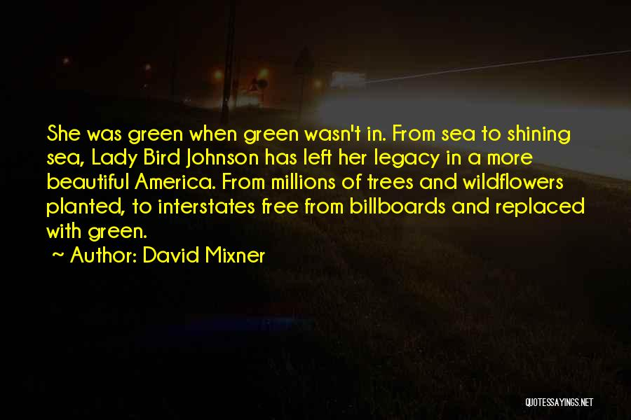 I Am A Free Bird Quotes By David Mixner