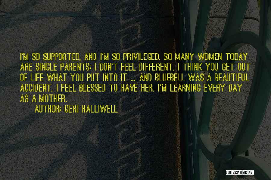 I Am Beautiful In Every Single Way Quotes By Geri Halliwell